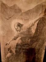 Jézus és a kisbárány grafika!