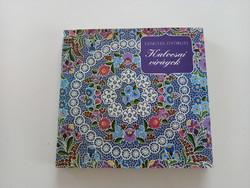 Retro könyv:_Lengyel Györgyi:Kalocsai virágok_1983
