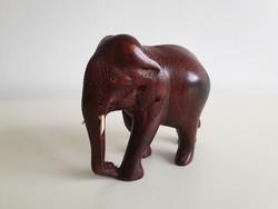 Elefánt figura retro dísztárgy