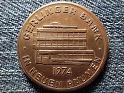 Gerlinger Bank érem 1974 (id42486)
