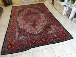 Iráni moud 195x300 kézi csomózású gyapjú perzsa szőnyeg MM_614