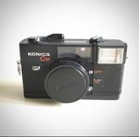Konica C35 fényképezőgép
