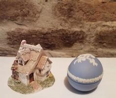 SZERETETTEL NELLINEK Miniatűr házikó és Wedgwood tojás