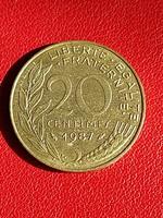 1987 20 centimes
