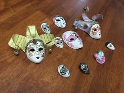 Velencei álarc, maszk farsangi dekoráció