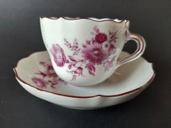 Meissen-i porcelán kávés csésze
