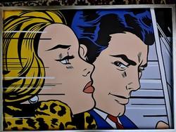 Pop art Roy Lichtenstein kép/plakát/nyomat