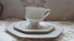 Villeroy& Boch fajansz teás reggeliző szett