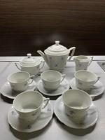 Zsolnay manófüles teás készlet 50-es évekből