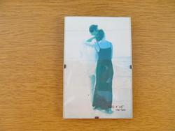 Üvegezett fényképtartó (10x5cm)