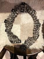 Judaika, rabbi nyaklánc, fémből, nagyon régi, 2 db, az ár darabár.