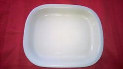 Fehér porcelán tál-tálca-kínáló masszív, hibátlan