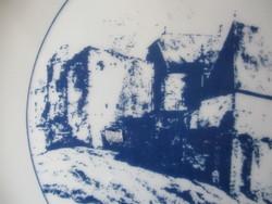 Középkori város részlet falitál (Chrisian Brand)