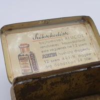Dr Wander Régi antik gyógyszeres lemezdoboz lemez doboz 30-as évek