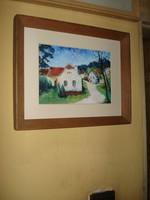 Első ház, falu szélén