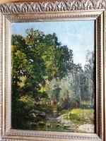 KELETY GUSZTÁV  1834 - 1902Pataknál-