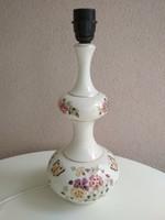 Zsolnay pillangó mintás asztali lámpa