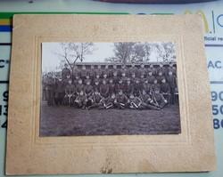 Levente csoportkép, 25x20 cm a kép 17x12 cm Bogár György Békés