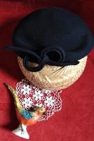Antik női kalap. Igazi ritkaság  1900 évek elejéből ?