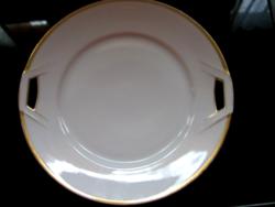 Fürstenberg tálca, tál, fehér-arany