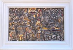 Ismeretlen művész – Alkímia című zománc alkotása – 29.
