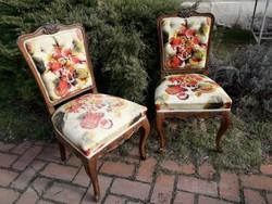 2 db. neobarokk szék.