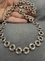 Gyönyörű  ezüst nyakék