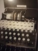 Német náci ss birodalmi Enigma fénykép