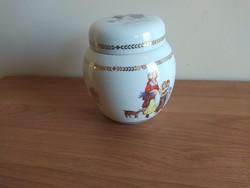 Yardley porcelám cukor vagy liszttartó Queen Elizabeth