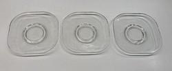 Üveg tányér, alátét