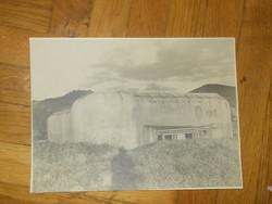 Háborús katonai bunker fénykép fotó
