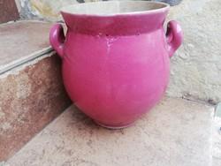 Zsolnay  rózsaszínű szilke