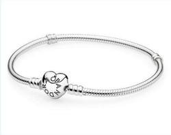 Pandora replika karkötő, ezüst bevonattal