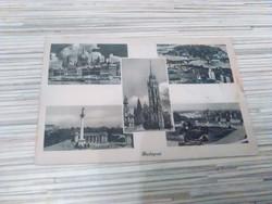 Antik képeslap. Budapest.