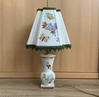 Patinás Herendi Queen Viktória Victoria lámpa