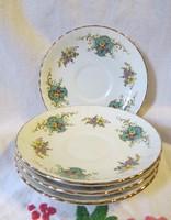 3 db angol Royal Stafford 'True Love' alátét/tányér kék, virágos mintával