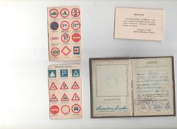 Korabeli jogosítvány 1959 okt.15
