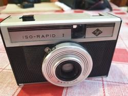 Agfa Iso-Rapid  Fényképezőgép  bőrtokban eladó!