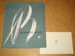 Bernáth Aurél gyűjteményes kiállítása (aláírt)