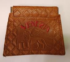 Vintage olasz bőr pénztárca