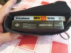 AGFA AGFAMATIC 6008  retro  fényképezőgép,eredeti bőr tokban eladó!
