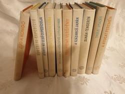 10 darab a Világjárók sorozatból (1960-1967 között)