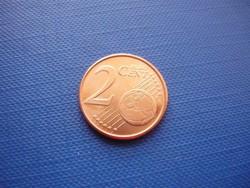 HOLLANDIA 2 EURO CENT 2001 ! UNC! RITKA!