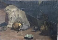 Ismeretlen festő – Felfordulás című grandiózus festménye – 36.