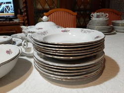 MZ Porcelán 6 személyes étkészlet.26db