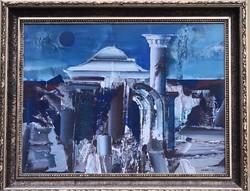 Zombori László – Lebontott házak II. című grandiózus festménye – 37.