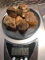 Borostyán csiszolatlan /Balti/ 112 gr 5db. Mélyen értéke alatt:15000ft