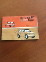 126 Polski Fiat kezelési kézikönyv