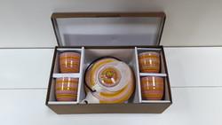 Vadonatúj Mount Everest teás készlet saját dobozában