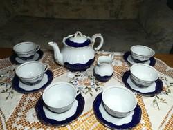 Zsolnay pompadour csodás teakészlet